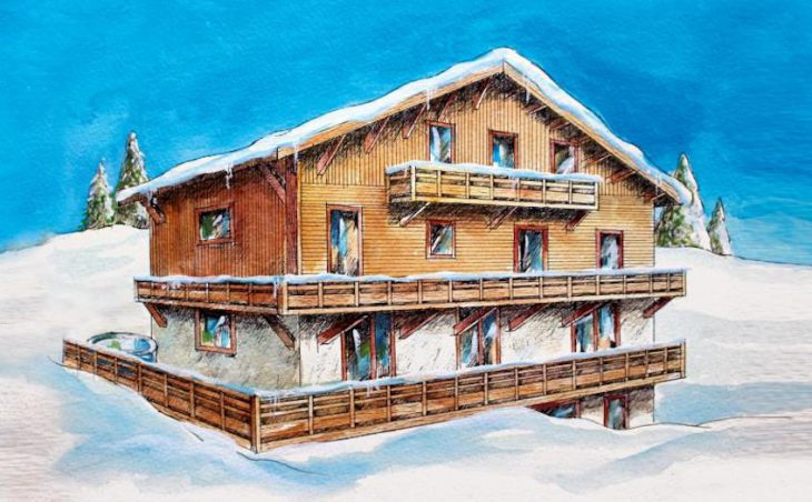 Chalet Cocon des Neiges, Les Gets, External