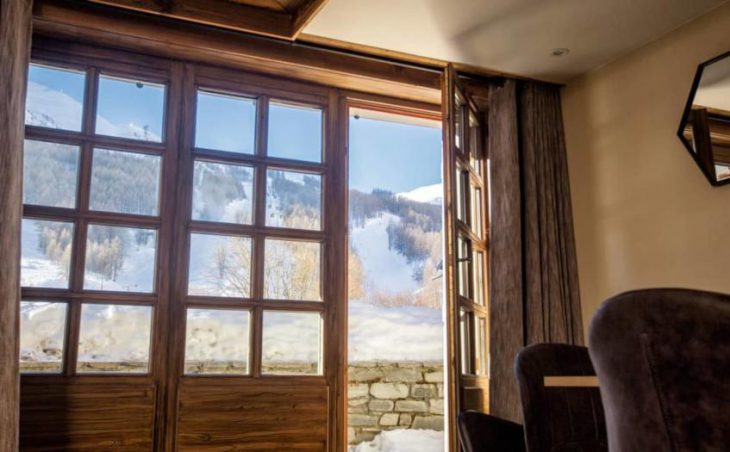 Chalet Cristal 1, Val dIsere, View from Lounge
