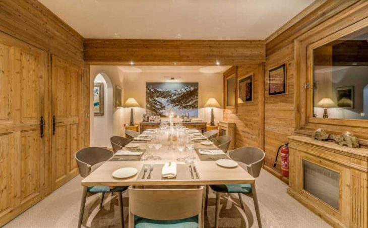 Chalet Elephant Blanc, Val d'Isere, Dining Area
