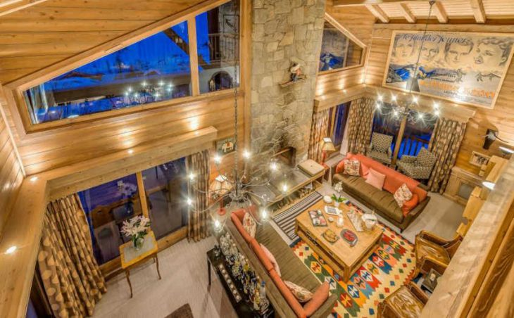 Chalet Elephant Blanc, Val d'Isere, Lounge