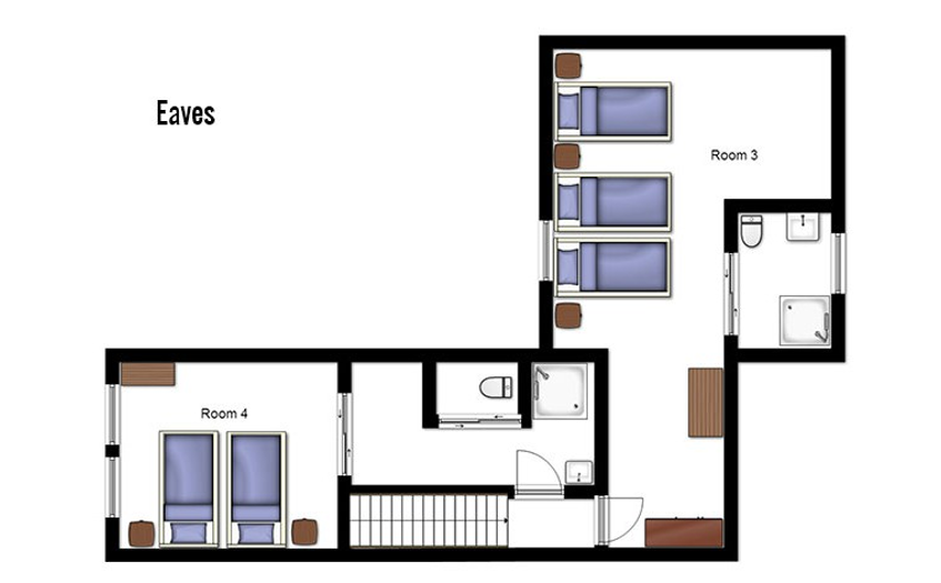 Chalet Escamillo Tignes Floor Plan 2