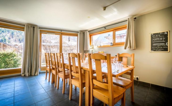 Chalet Grand Sapin, Morzine, Dining Area