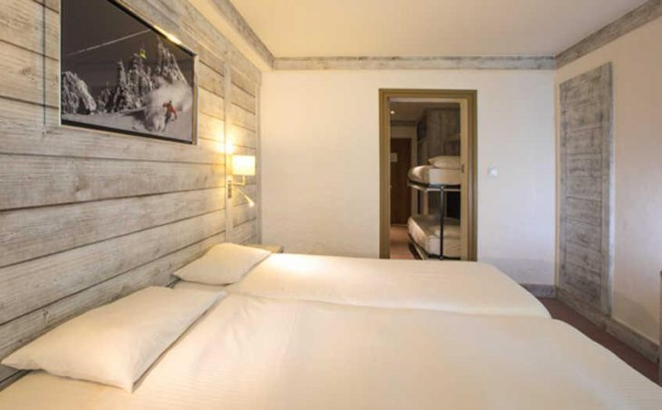 Chalet Hotel Aiguille Percee, Tignes, Bedroom 8