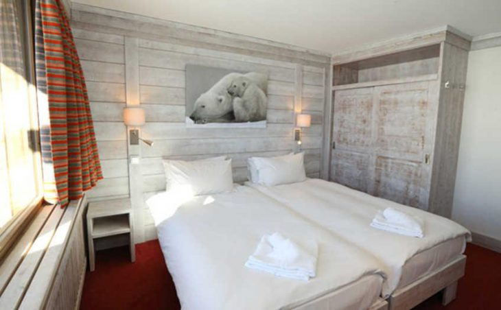 Chalet Hotel Aiguille Percee, Tignes, Bedroom 4