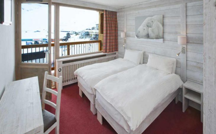 Chalet Hotel Aiguille Percee, Tignes, Bedroom 5