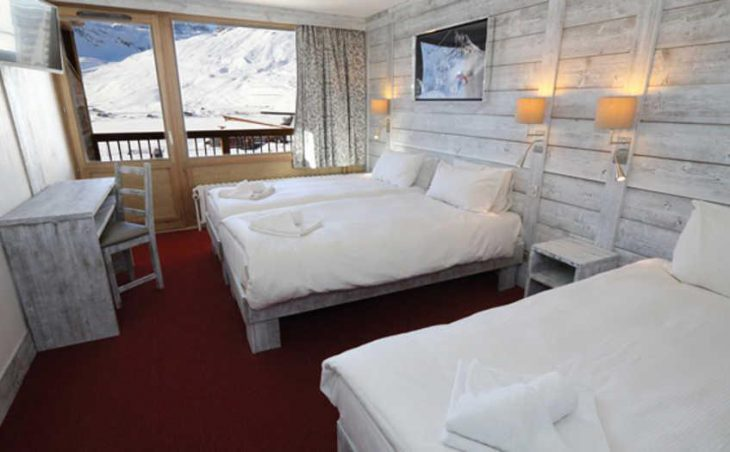 Chalet Hotel Aiguille Percee, Tignes, Bedroom 6