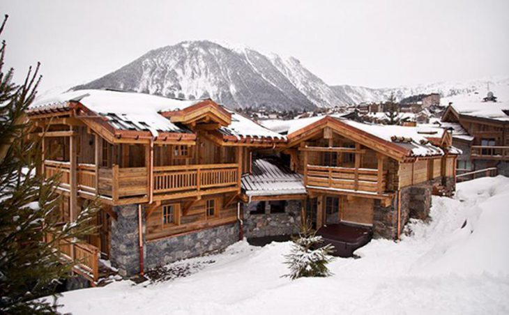Chalet Jacques, Courchevel, External