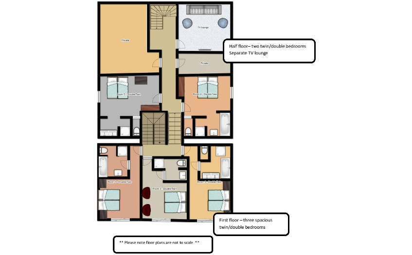 Chalet Kashmir Meribel Floor Plan 2