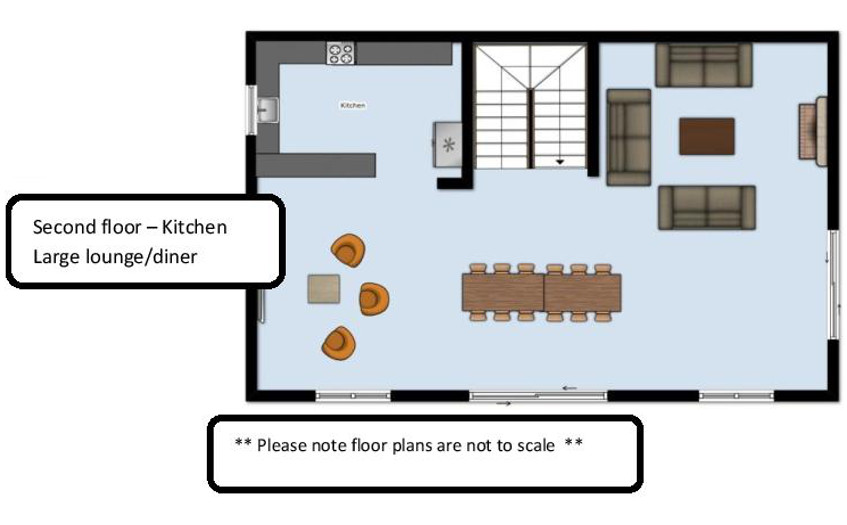 Chalet Kashmir Meribel Floor Plan 1