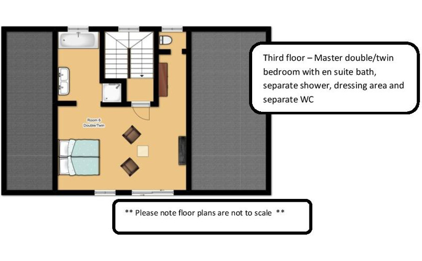 Chalet Kashmir Meribel Floor Plan 4