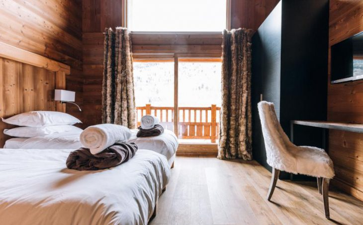 Chalet Kashmir, Meribel, Twin Room