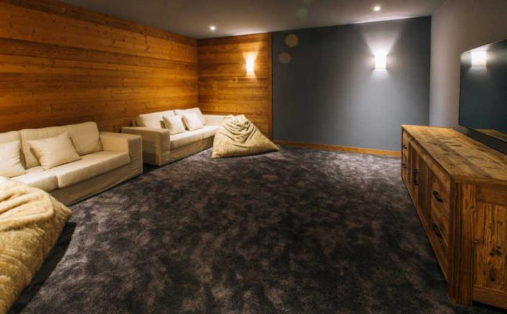 Chalet Kashmir, Meribel, Movie Room