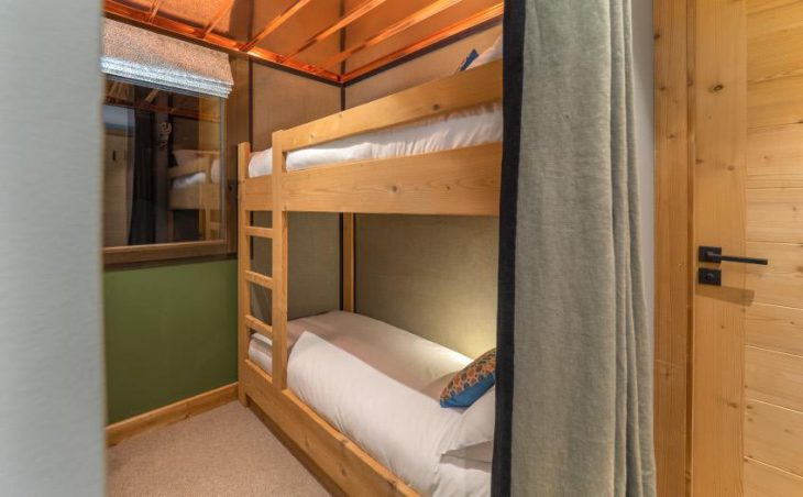 Chalet Kobuk, Avoriaz, Bunk Bedroom