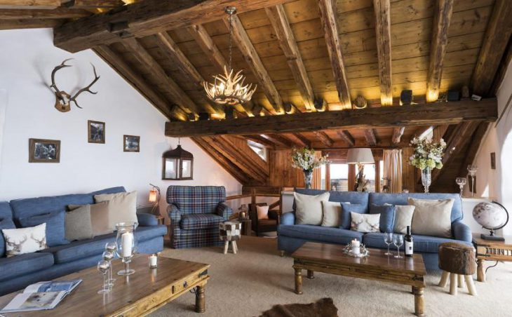 Chalet Bergerie, Val dIsere, Lounge 2