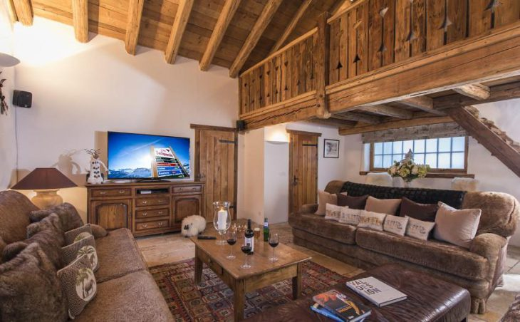 Chalet Bergerie, Val dIsere, Lounge 4
