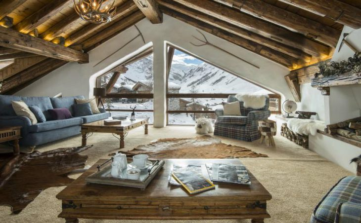 Chalet Bergerie, Val dIsere, Lounge