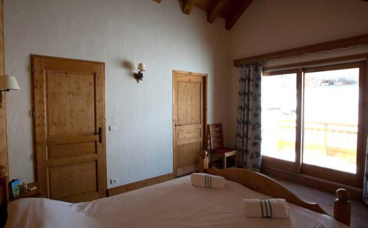 Chalet La Vieille Grange, Meribel, Double Bedroom 2