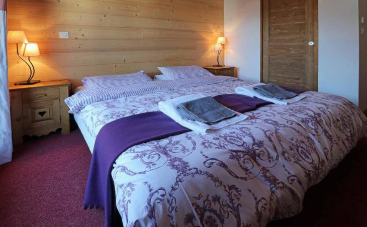 Chalet Les Cabris, Meribel Less Allues, Double Bed