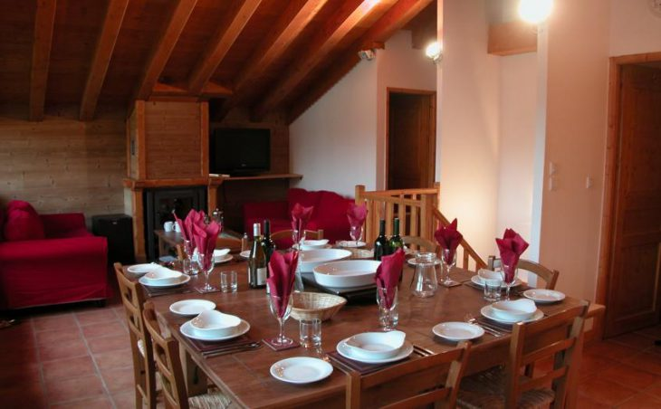 Chalet Lorraine, Les Menuires, Dining Room
