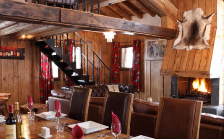 Chalet Madeleine, Val d'Isere, Dining Room