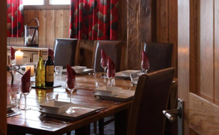 Chalet Madeleine, Val d'Isere, Dining Room 2
