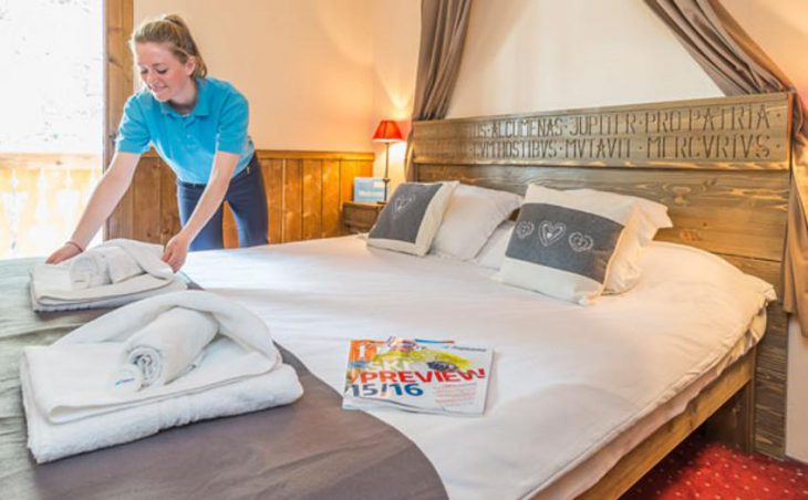 Chalet Marcel, Les Arcs, Double Bedroom