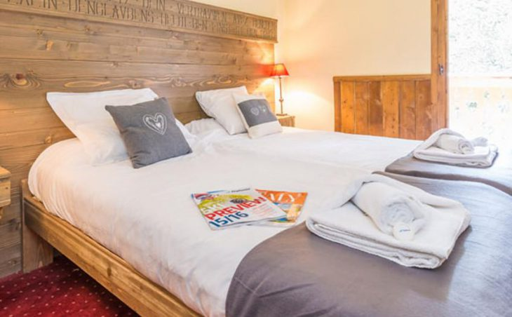 Chalet Marcel, Les Arcs, Double Bedroom 2