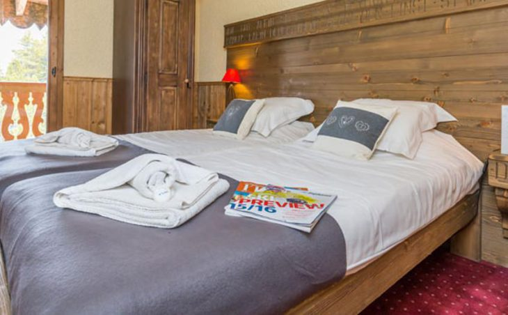 Chalet Marcel, Les Arcs, Double Bedroom 5