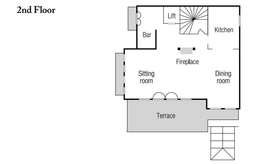 Chalet Marco Polo Val d'Isere Floor Plan 1