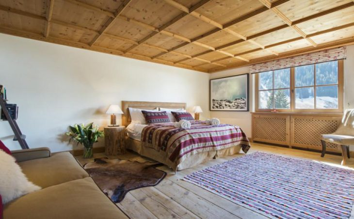 Chalet Maria Schnee, St Anton, Double Bedroom