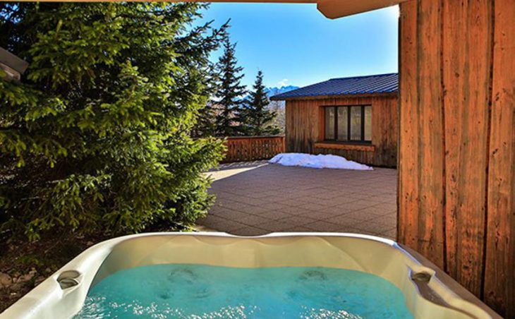 Chalet Martine, Alpe D'Huez, Hot-tub