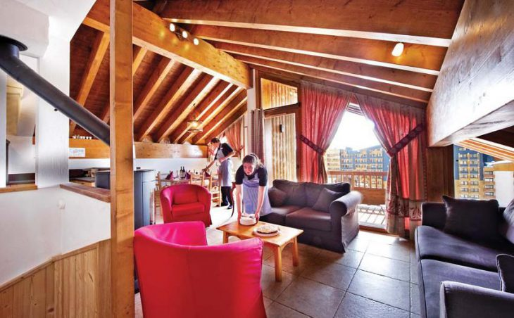 Chalet Mathilde, Val Thorens, Lounge Area