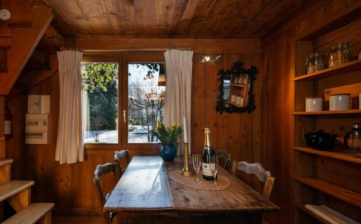 Chalet Mazot Les Tines, Chamonix, Dining Room
