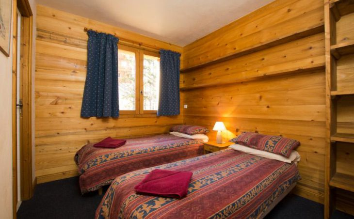 Chalet Morgane, La Tania, Twin Room