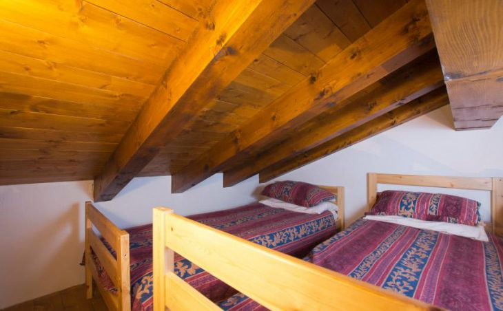 Chalet Morgane, La Tania, Attic Bedroom