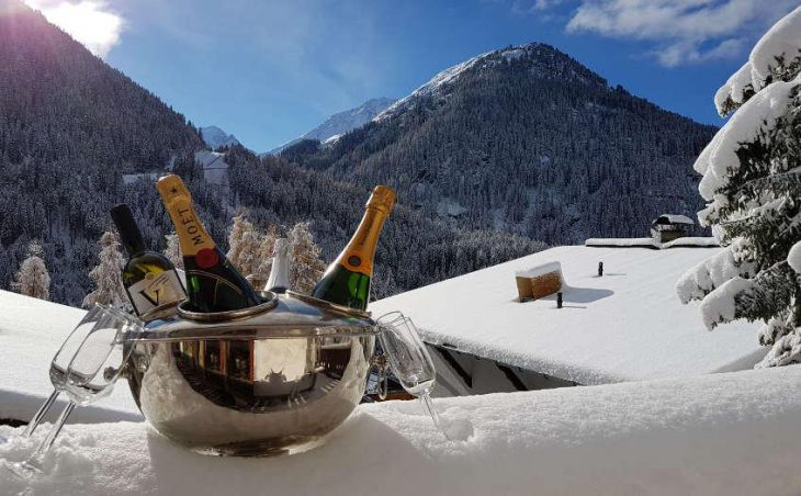 Chalet Narnia, St Anton, View from the chalet