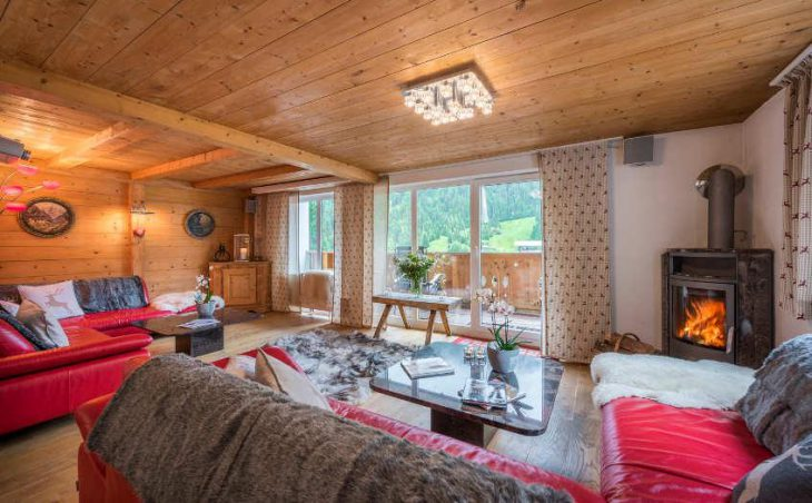 Chalet Narnia, St Anton, Lounge Area