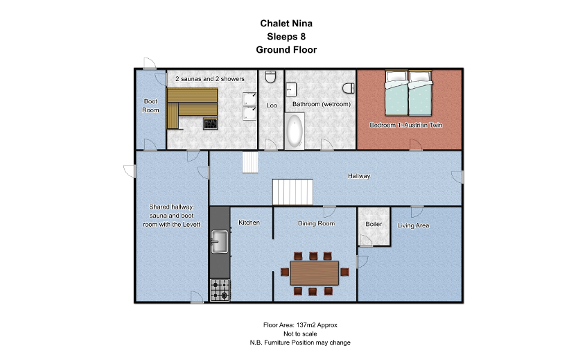 The Nina St Anton Floor Plan 2