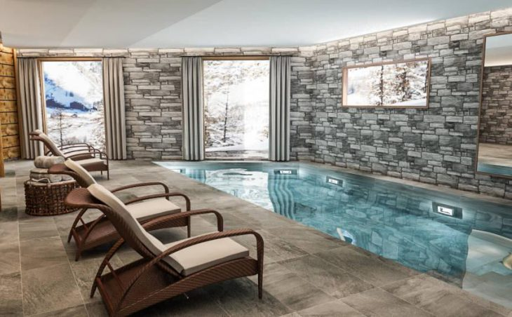 Chalet O Valala, Val d'Isere, Pool