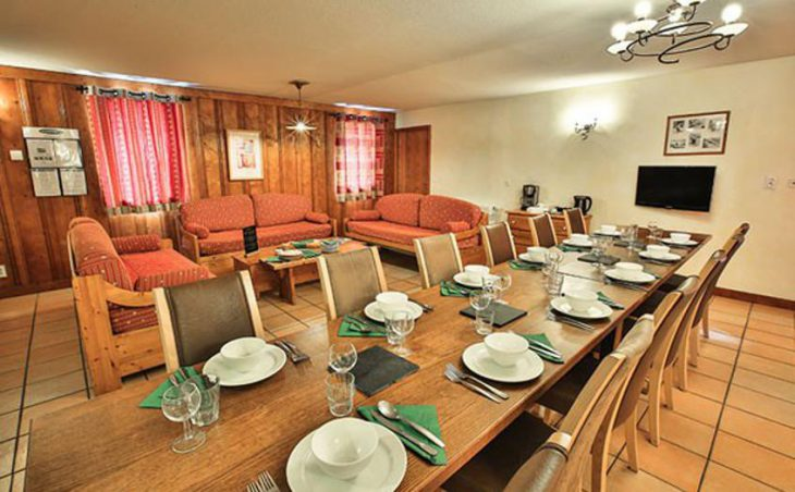 Chalet Peche, Val Thorens, Dining Room
