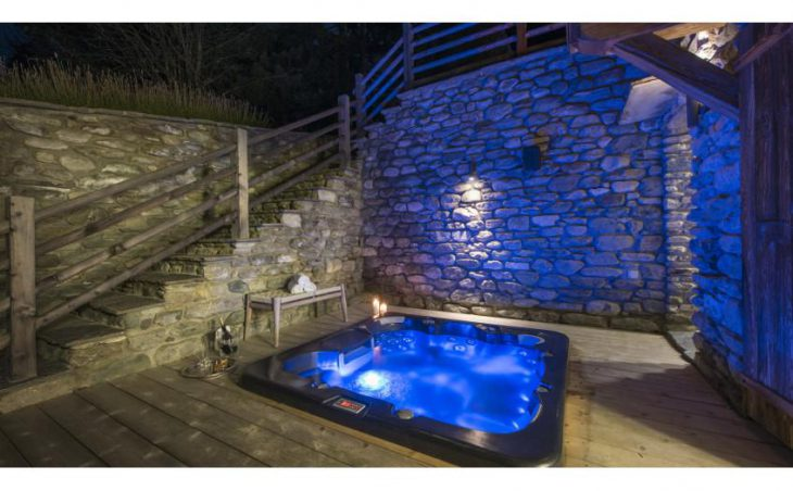 Petiti, Verbier, Hot-tub