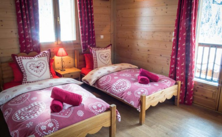 Chalet Rosko, Tignes, Twin Bedroom