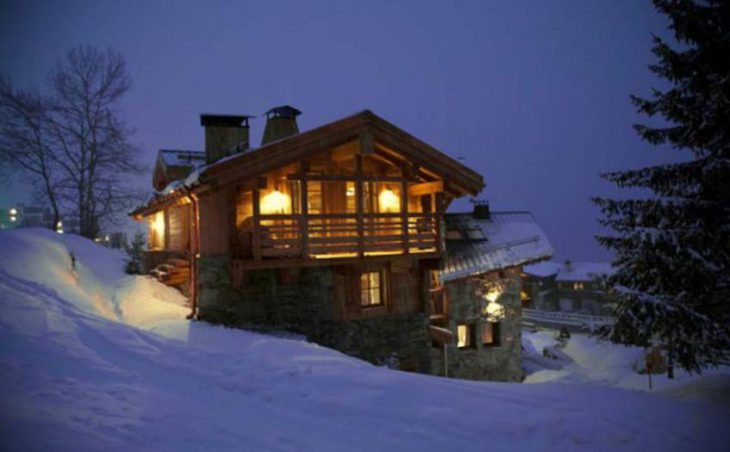 Chalet Samuel, Courchevel, External