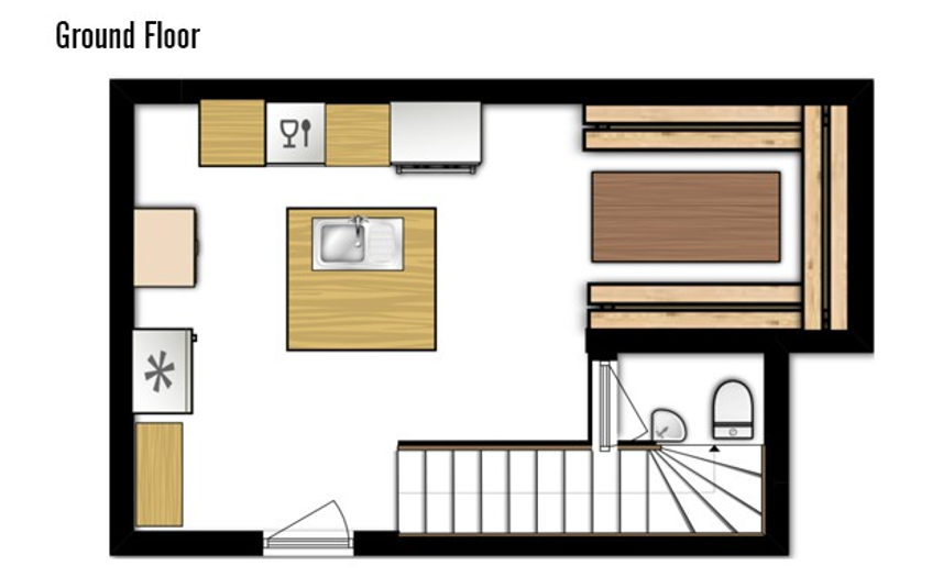 Chalet Samuel Courchevel Floor Plan 4