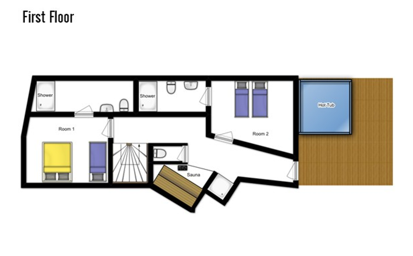Chalet Samuel Courchevel Floor Plan 3