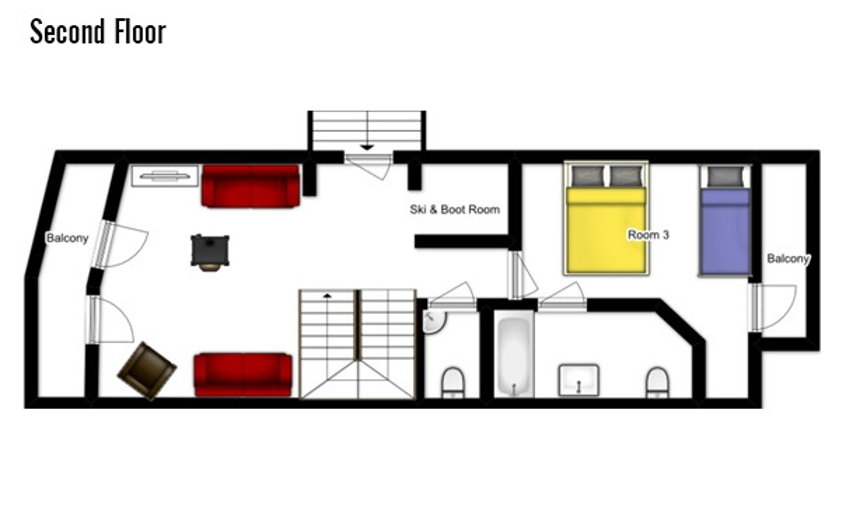 Chalet Samuel Courchevel Floor Plan 2