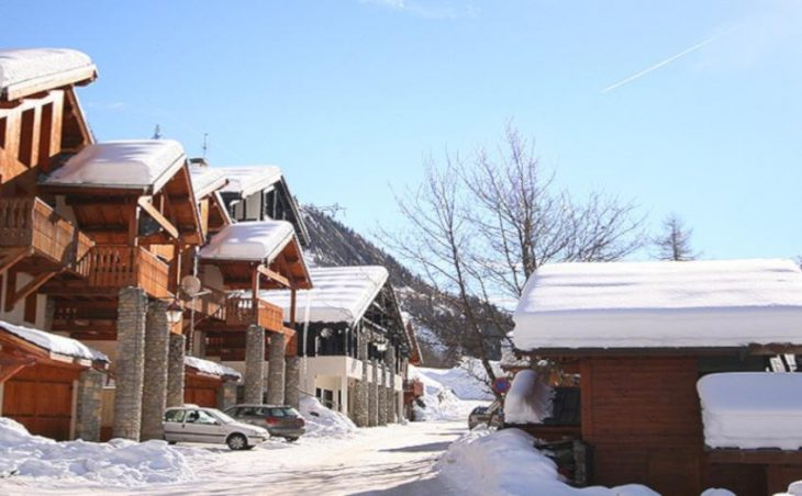 Chalet Val Monte, Tignes, Street View