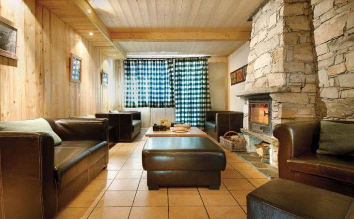Chalet Les Arols Bleus, Tignes, France, Lounge area