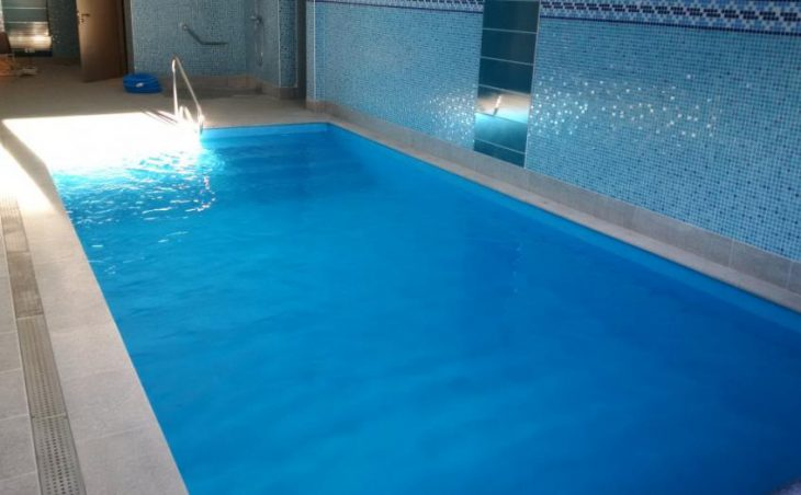 Chalet hotel Rosset, Tignes, France, swimming pool