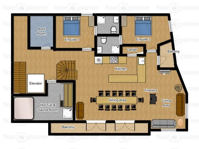 Chalet Samoens Samoens Floor Plan 2
